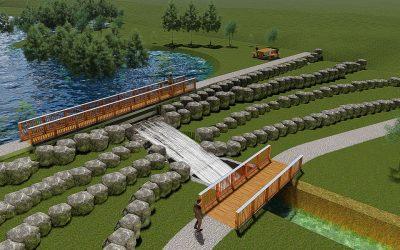 Construction d'une Zone d'Immersion Temporaire sur le cours d'eau «Près à Canonne» à Soignies!