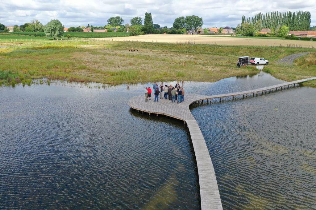Photo aérienne par drone - collège provincial