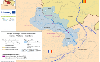 L'Elnontransfrontalier: un projet de lutte contre les inondations de l'Elnon financé par l'Union européenne