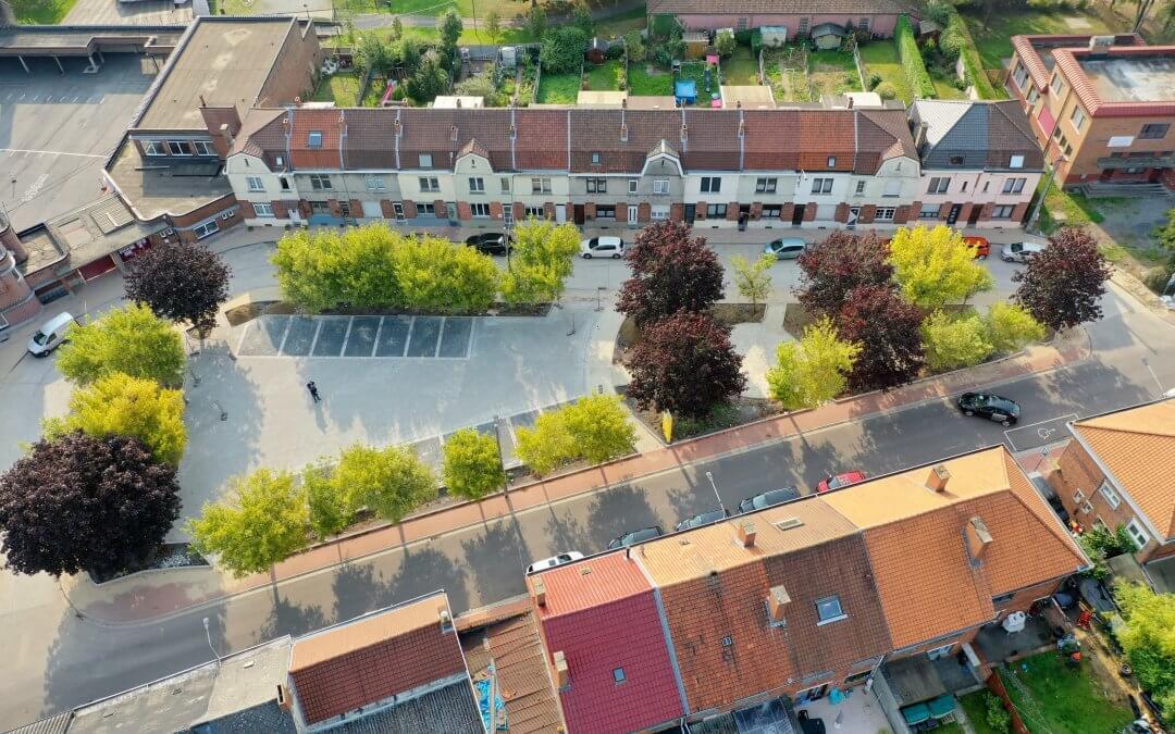 Amélioration de la Place Calmette et des trottoirs rue de Fleignies- Prestation d'auteur de projet pour la Commune de Frameries