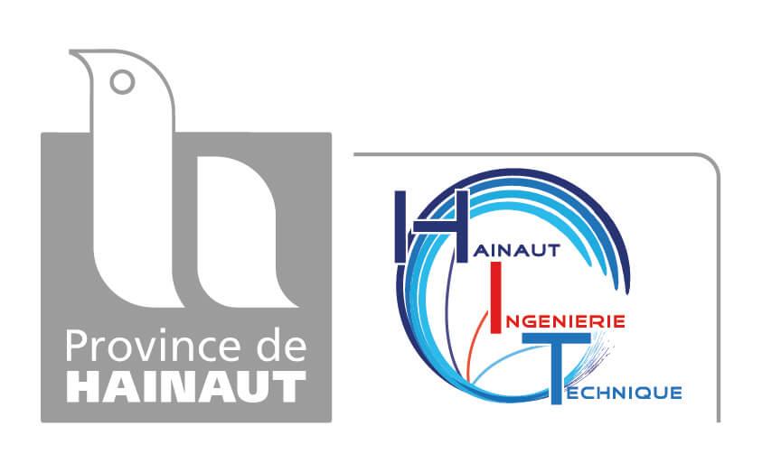 Logos de la Province de Hainaut et de Hainaut Ingénierie Technique
