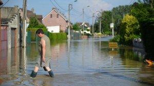 Lecelles inondée en 2016